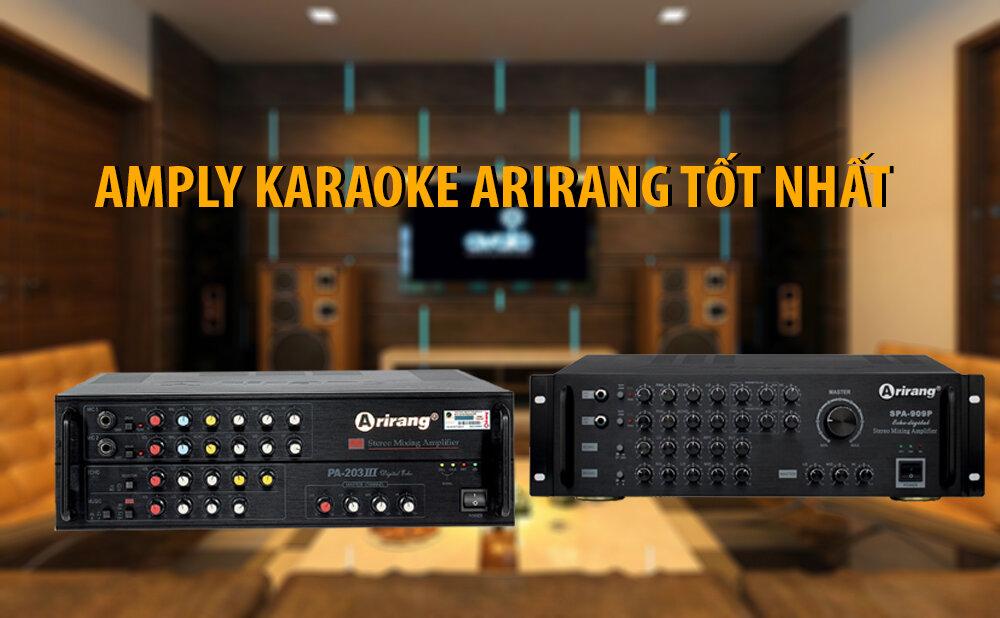 Chất lượng của amply Arirang đã được người dùng kiểm chứng (Nguồn: loa karaoke.com.vn)
