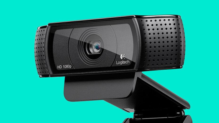Logitech C920 có camera độ phân giải cao cho chất lượng hình ảnh tốt hơn