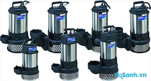 Các loại máy bơm nước: Máy bơm điện chìm