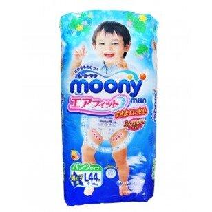 Tã quần Moony size L bé trai - 44 miếng