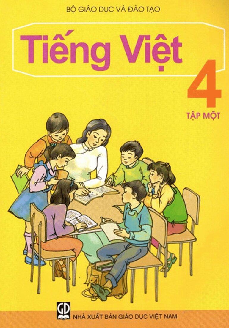 Sách giáo khoa tiếng việt lớp 4 có phương pháp học cấp tiến