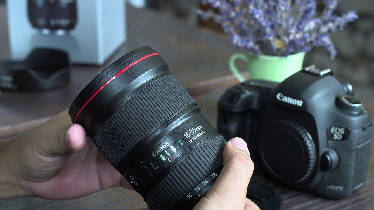 Một loại lens Canon dùng để chụp chân dung
