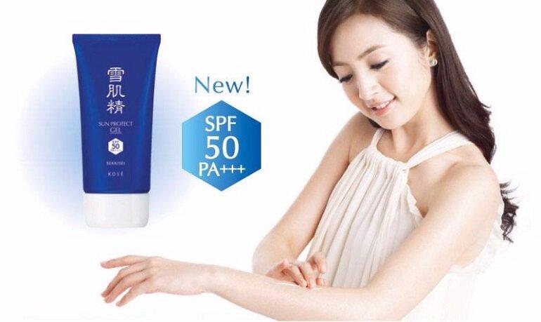 Công dụng của kem Chống nắng KOSE Sekkisei White UV Milk & Gel