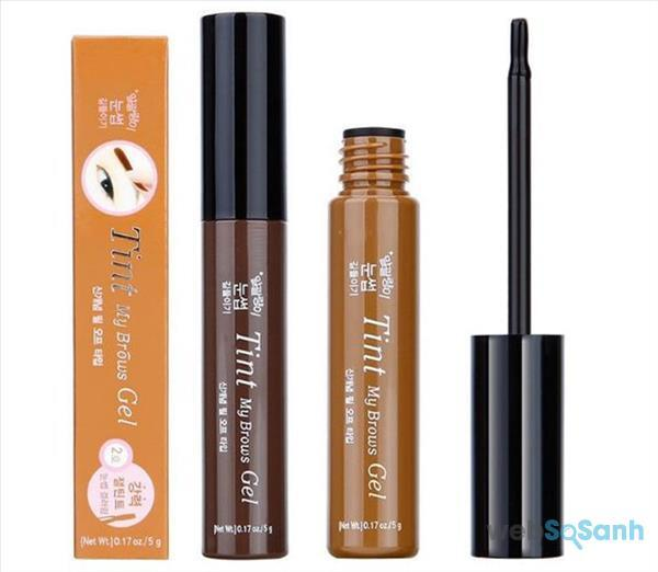 Review Tint My Brows Gel về thiết kế, bao bì, textture