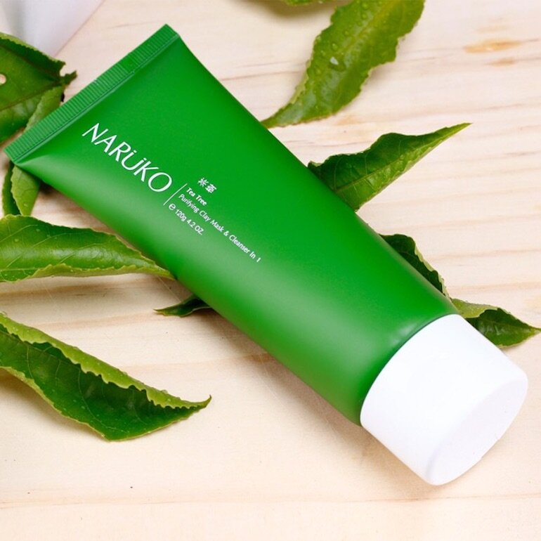 Sữa rửa mặt làm sạch sâu Naruko Tea Tree Purifying Clay Mask And Cleanser In 1