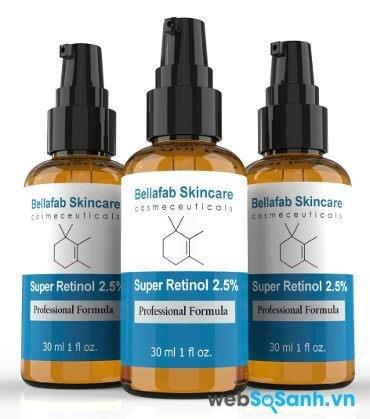serum vitamin A retinol tốt nhất