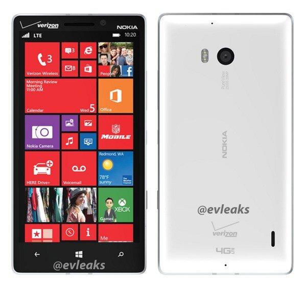 Ảnh thực tế Lumia 929 bản màu trắng, kẻ kế nhiệm của Lumia 1020