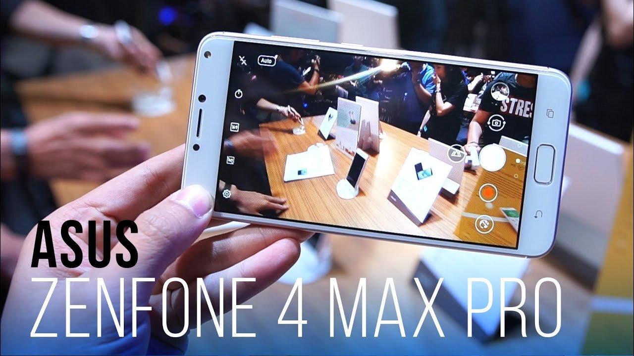 Zenfone 4 Max Pro có thể quay video Full HD sắc nét
