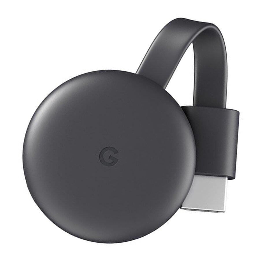 Thiết bị Stream không dây Google Chromecast 3 màu đen
