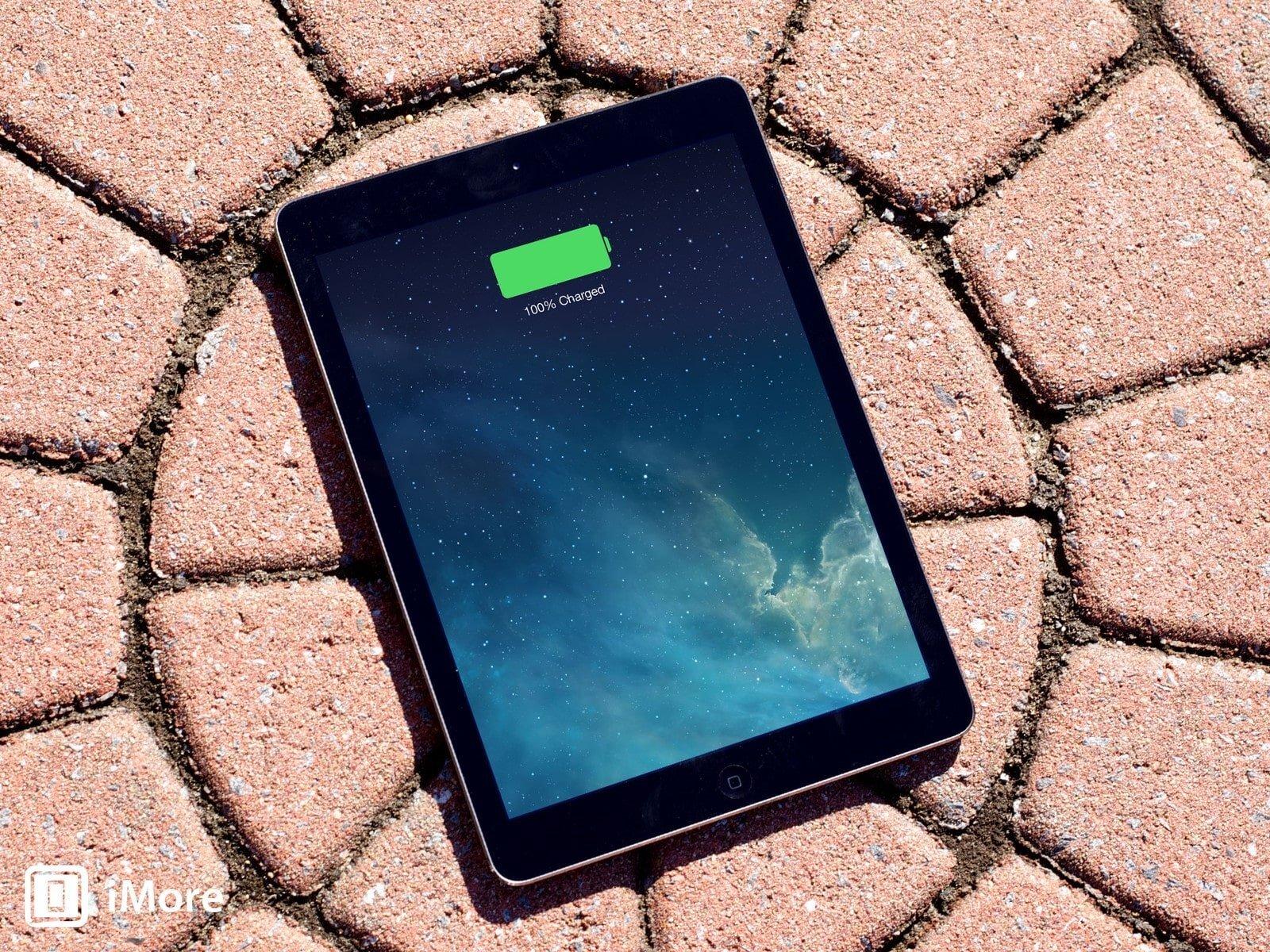 Khởi động chế độ tiết kiệm pin trên iPad