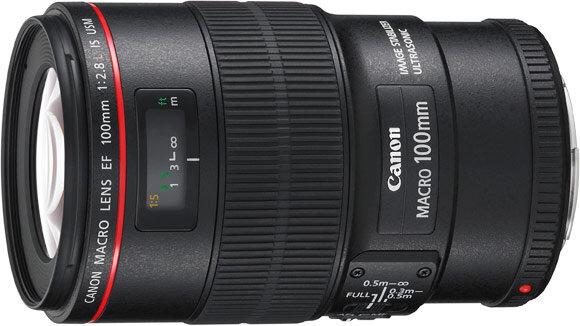 ống kính macro Canon 100 mm
