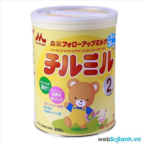 Sữa bột Morinaga Chilmil số 2