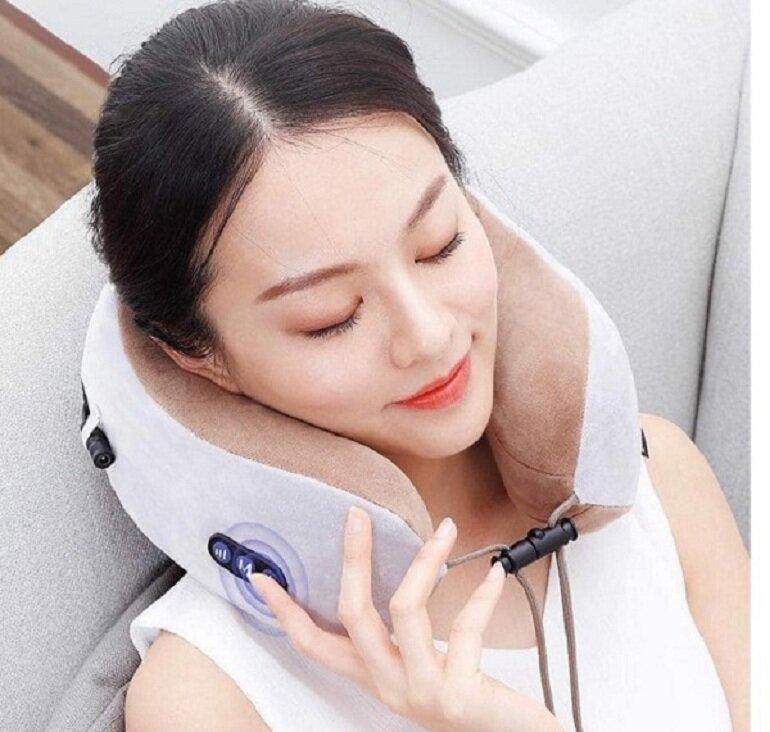 Máy massage giúp giảm đau mỏi cơ thể và thư giãn tinh thần