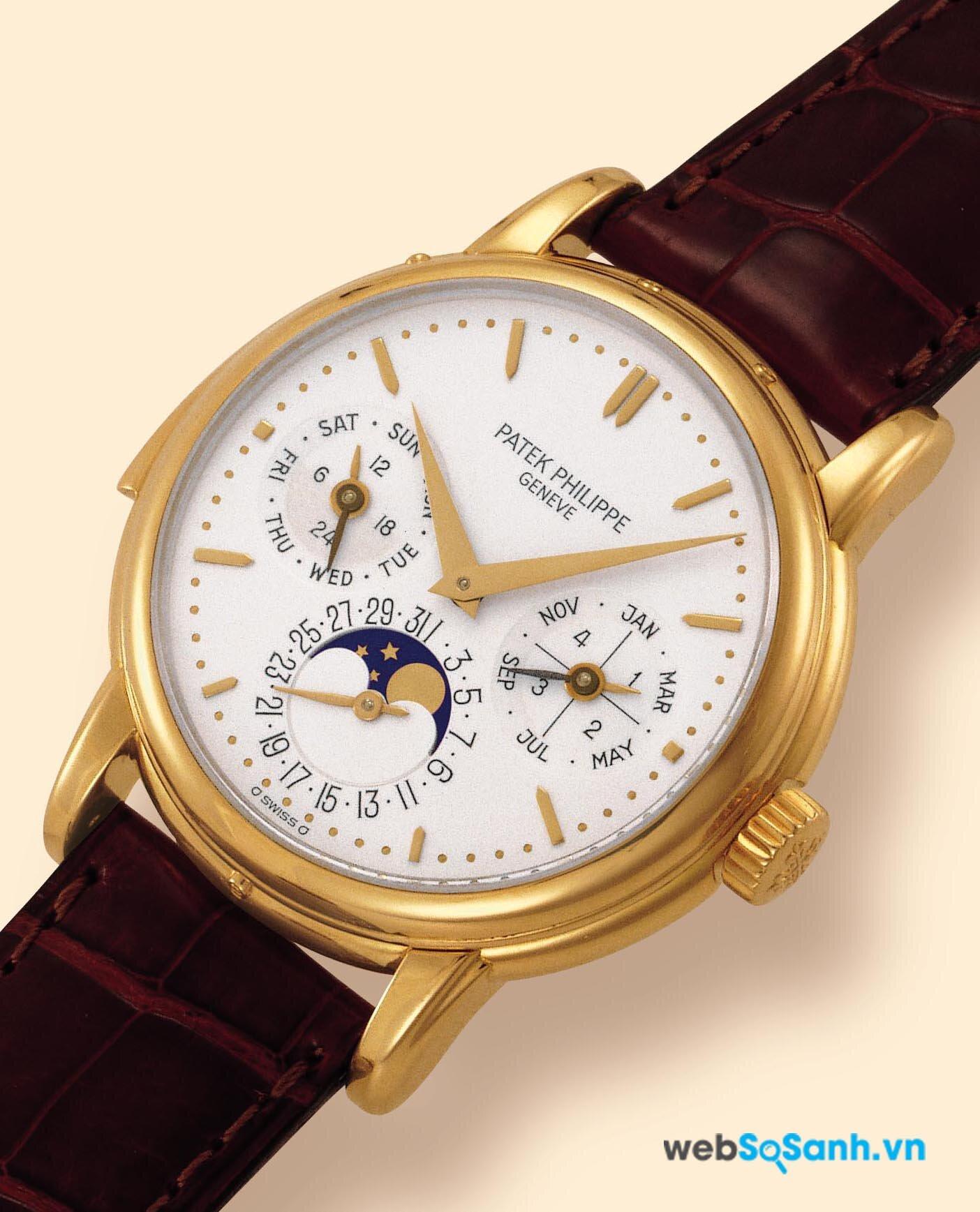 Một chiếc đồng hồ Patek