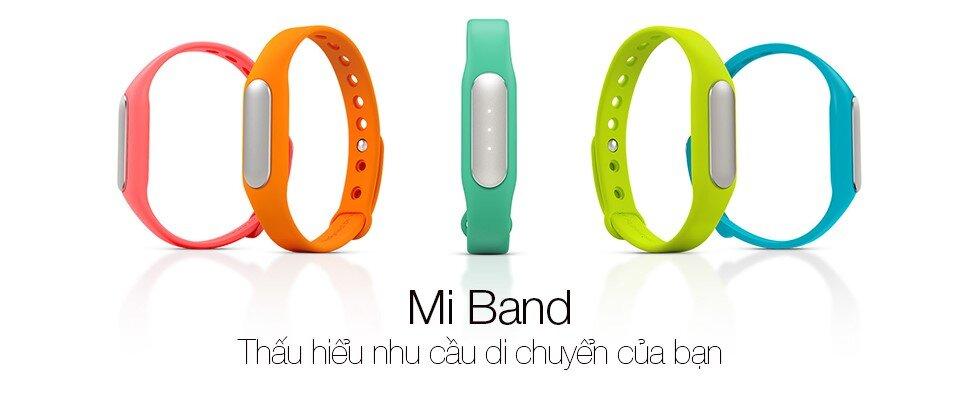 Xiaomi Mi Band giúp ghi lại các sự kiện trong ngày