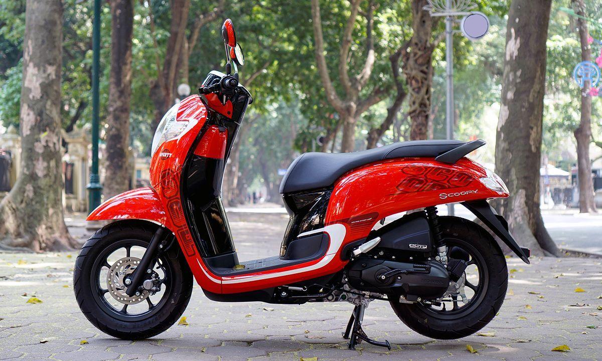 Honda Scoopy sở hữu thiết kế truyền thống nhỏ gọn