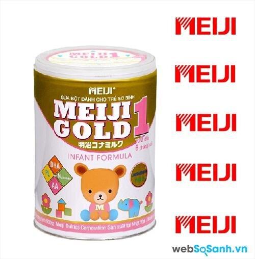 Sữa bột Meiji Gold 1