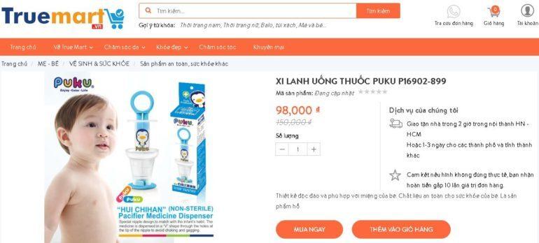 Xi Lanh Uống Thuốc Puku P16902-899 - Giá đang sale 35% giá chỉ còn 98.000 vnđ