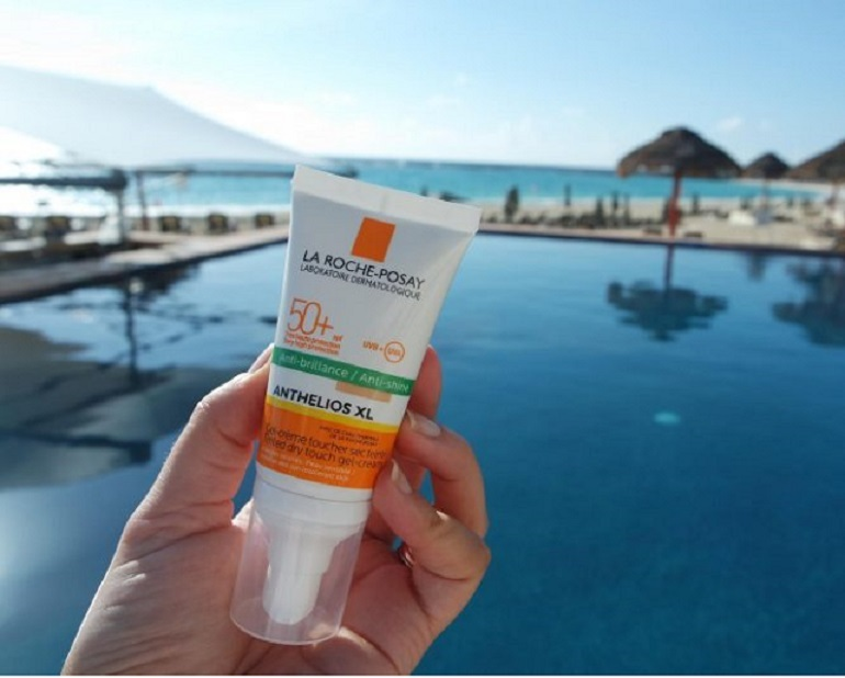 Kem chống nắng Anthelios XL SPF 50+ Dry touch gel-cream ANTI-SHINE