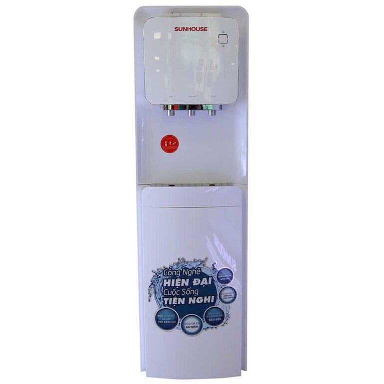 Cây nước nóng lạnh Sunhouse shd9546 với thiết kế 3 vòi nước riêng biệt