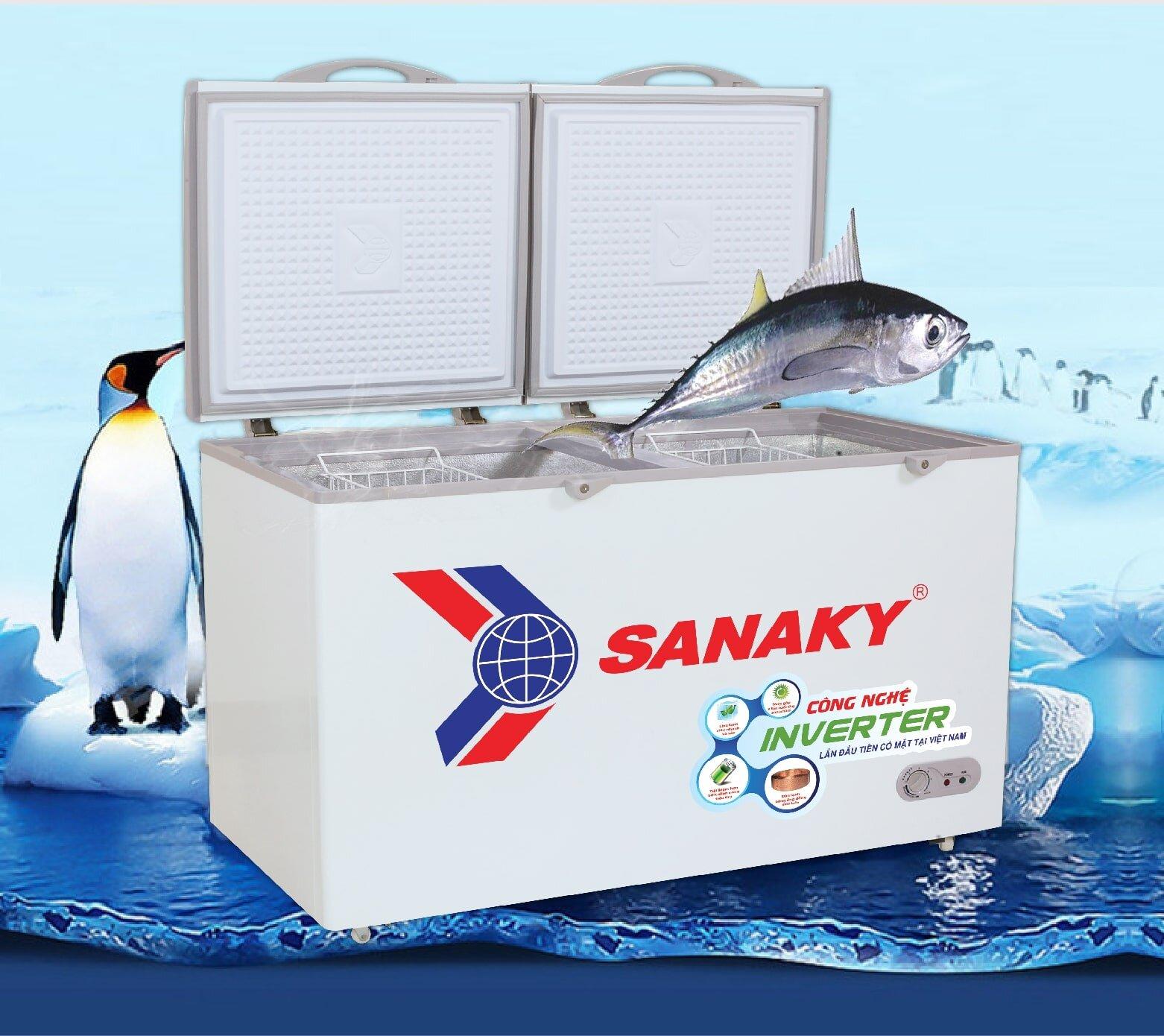 Tham khảo tủ đông Sanaky với ưu điểm dung tích lớn, công suất lớn