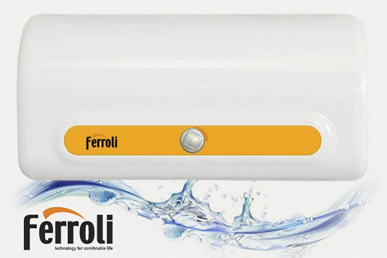 Phòng tắm nhỏ nên chọn mua bình nóng lạnh Ferroli bao nhiêu lít ?