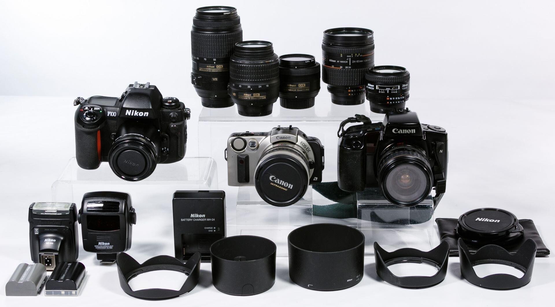 Nên mua ống kính Canon hay Nikon?