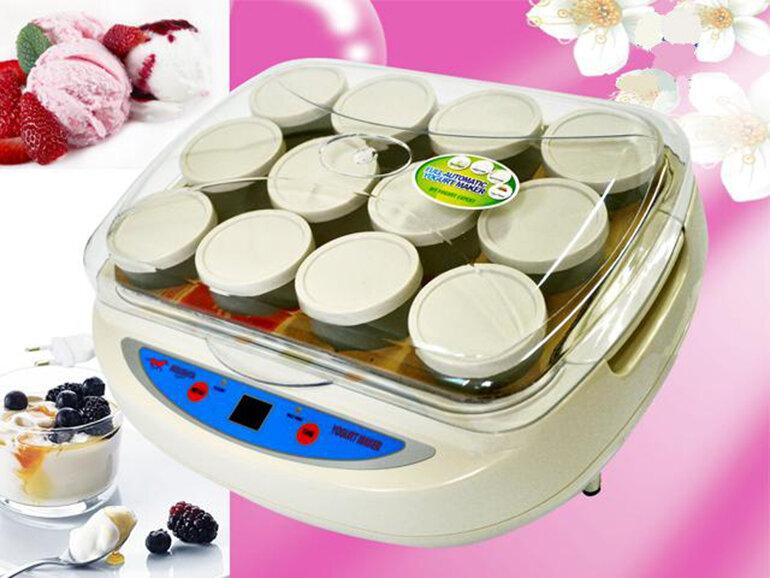 Máy làm sữa chua Misushita 12 cốc tiện lợi cho người sử dụng (Nguồn: giadungviet.vn)