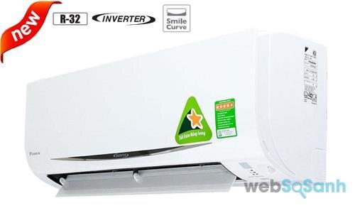Máy lạnh Daikin inverter 9000 BTU FTKC25QVMV
