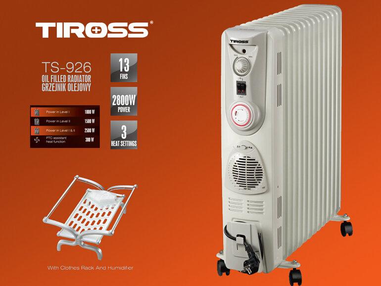 Máy sưởi dầu Tiross được khas nhiều người quan tâm và lựa chọn