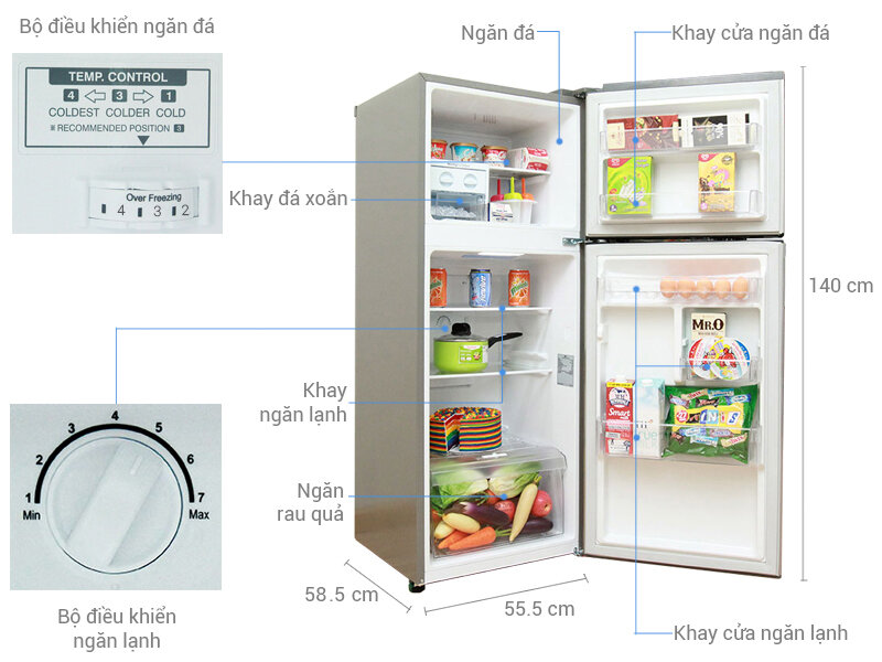 Cần có cách sử dụng tủ lạnh khoa học