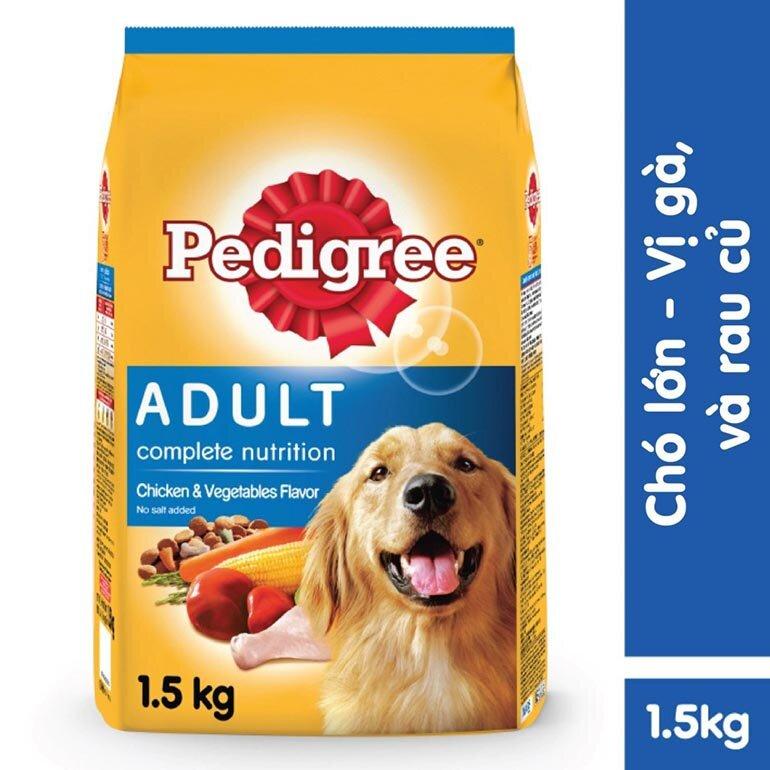 Thức ăn cho chó lớn Pedigree vị gà và rau củ