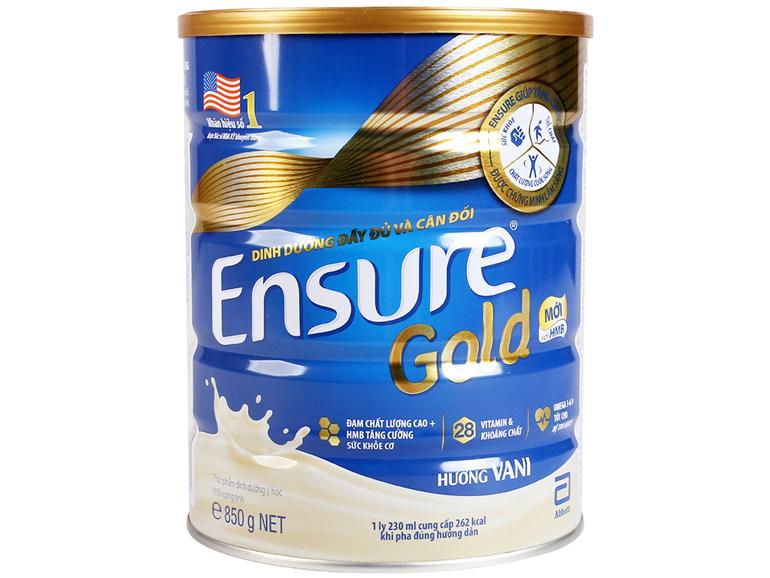 Sữa bột Ensure Gold tốt cho người lớn tuổi