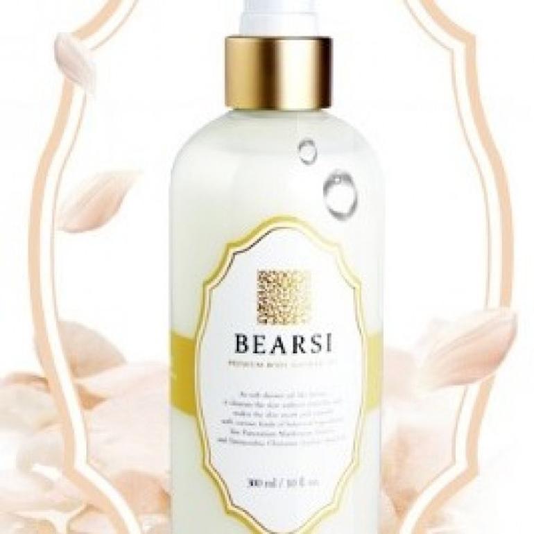 Sữa tắm làm sáng da cho da khô Milky Dress Bearsi Body Shower Oil 300ml