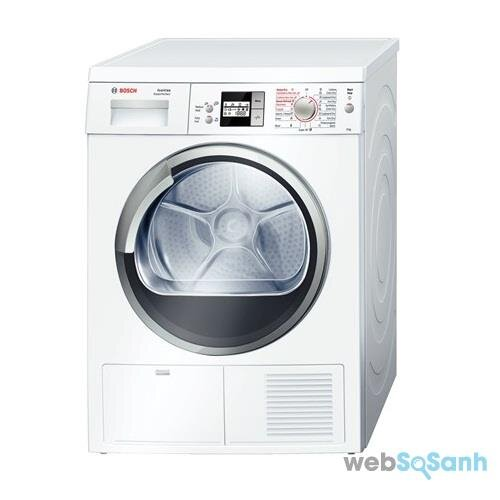máy sấy quần áo Bosch dùng có tốt không