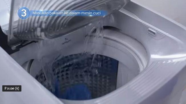 Hướng dẫn dùng khay giặt tay trên máy giặt Samsung Activ Dualwash