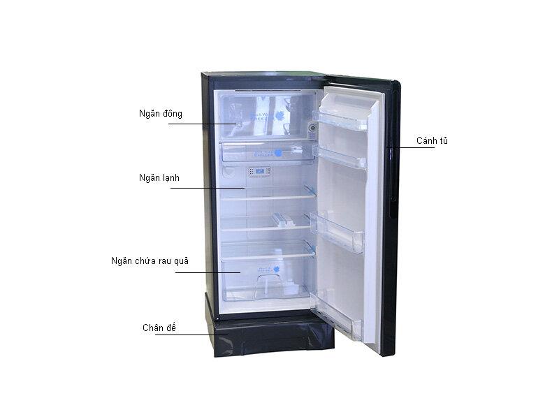 Tủ lạnh 1 cánh Hitachi R-G180AGV5 có giá 5.399.000đ