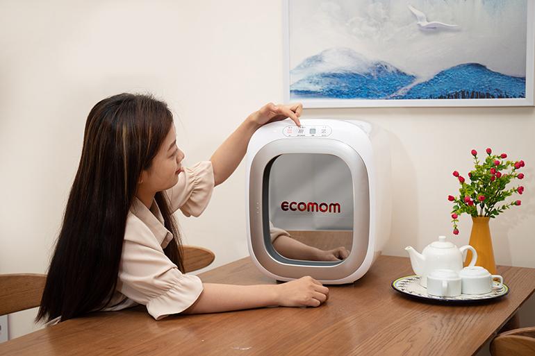 Máy tiệt trùng bình sữa sấy khô bằng tia UV Ecomom ECO-100