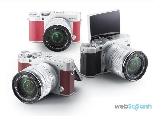 Máy ảnh du lịch fujifilm X-A3