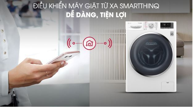 Máy giặt LG Inverter 9 kg FC1409S4W - Giá rẻ nhất: 7.850.000 vnđ