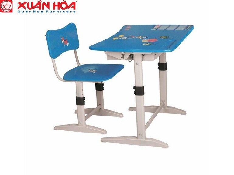 Bàn học trẻ em Xuân Hòa đã và đang được sử dụng rộng rãi tại nhiều gia đình và các trường học