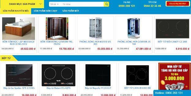 Nội Thất Kường Minh tự hào là hệ thống showroom Chuyên cung cấp phân phối thiết bị nhà bếp, phòng tắm, quạt trần đèn trang trí Hiện Đại, Thông Minh, Giá Tốt, Uy tín nhất tại Việt Nam