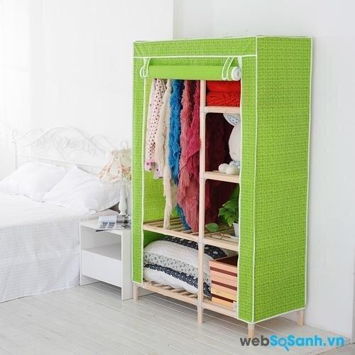 Nên mua tủ vải hãng nào tốt nhất: Tủ vải Hàn Quốc cao cấp