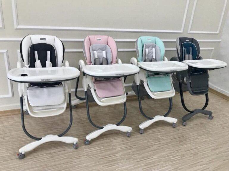 Có nên mua ghế ăn dặm Newber cho trẻ không?