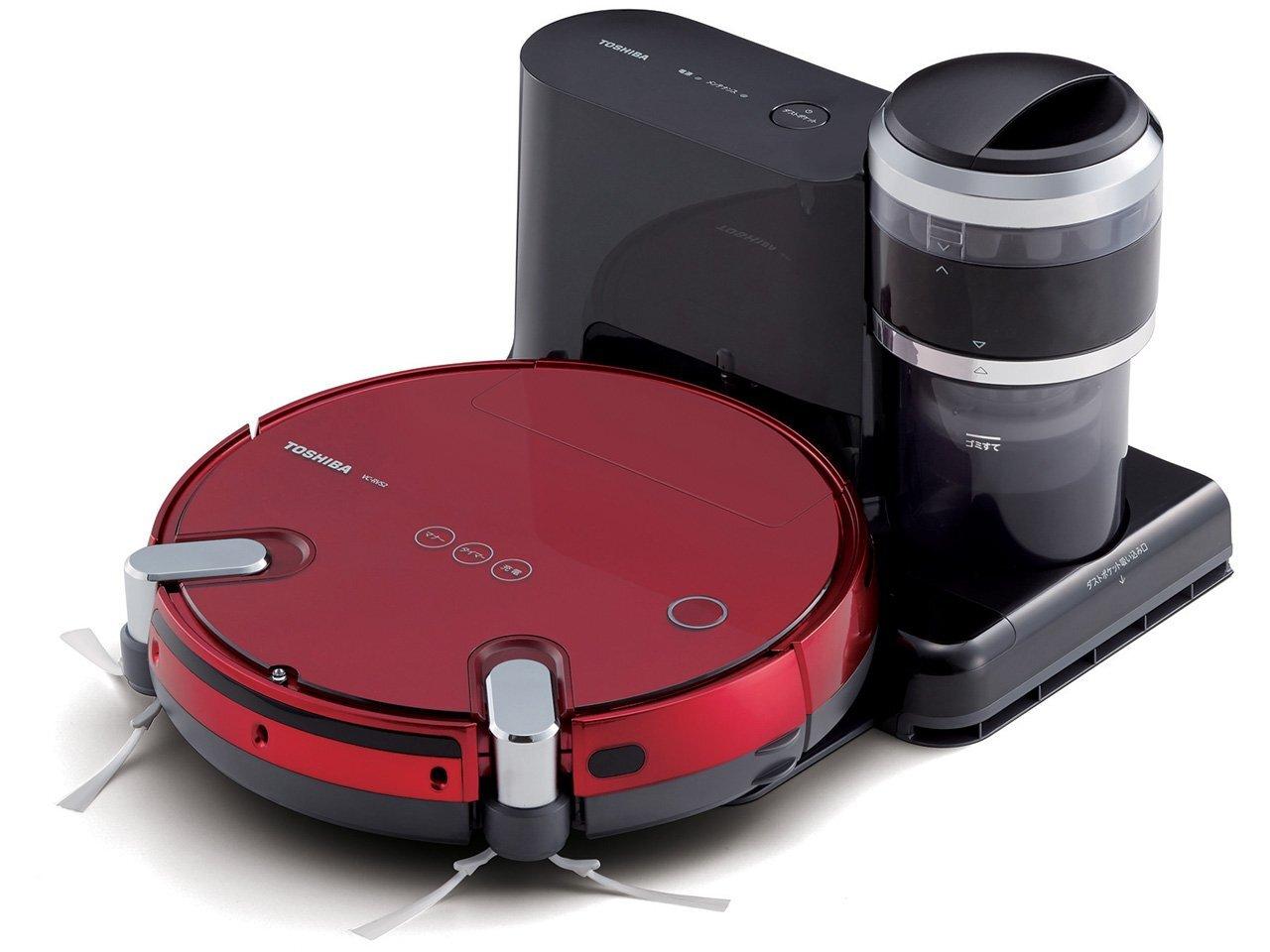 Đến từ thương hiệu điện tử nổi tiếng toàn cầu, robot hút bụi Toshiba đem đến cho bạn một giải pháp làm sạch nhà hoàn toàn mới