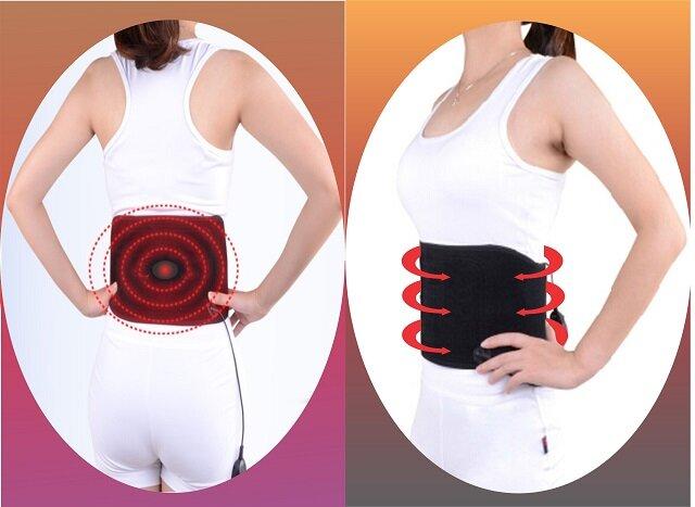 đai massage giảm mỡ bụng