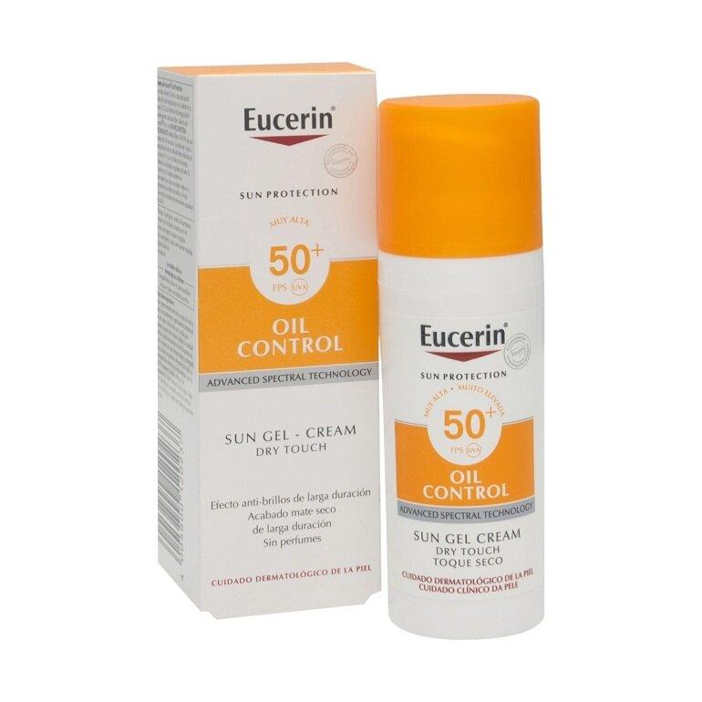 Kem chống nắng Eucerin Sun Gel Cream Oil Control SPF 50