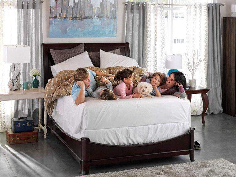 Nệm cao su tổng hợp Liên Á mang lại cho người dùng một giấc ngủ êm ái(Nguồn: sealyme.com)