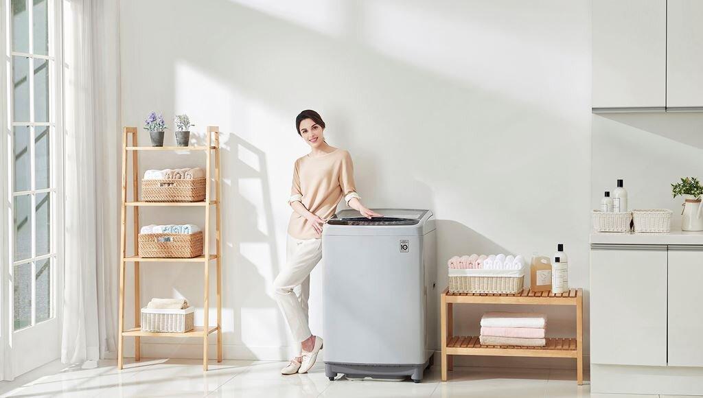 Máy giặt cửa trên LG