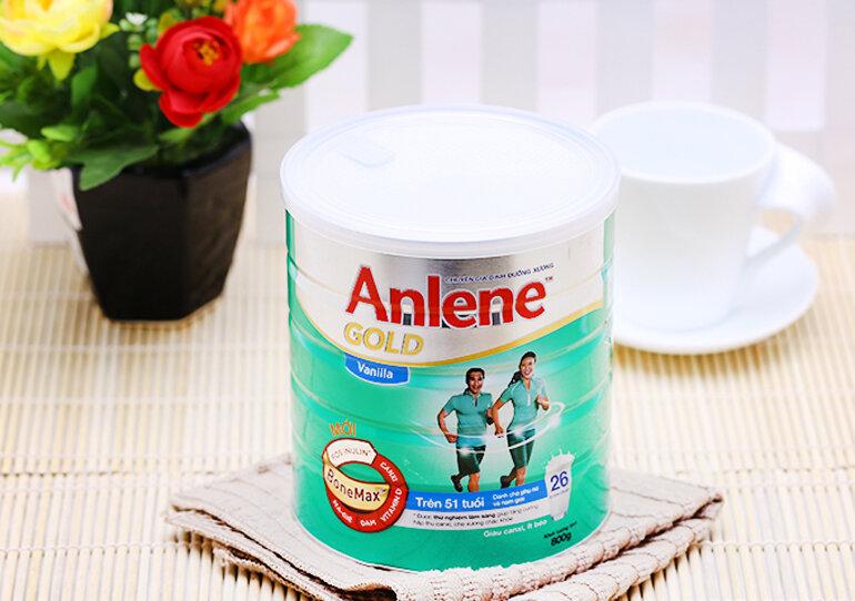 Sữa bột Anlene Gold cho người lớn tuổi